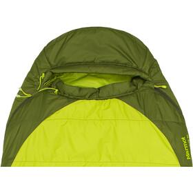 Marmot Trestles Elite 30 Sleeping Bag Regular Herr green lichen/greenland